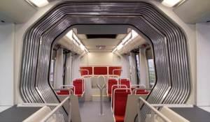 L'intérieur d'un BHNS n'a rien à envier aux métros les plus modernes