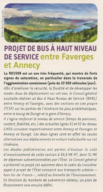 article Haute-Savoie MAG N°147